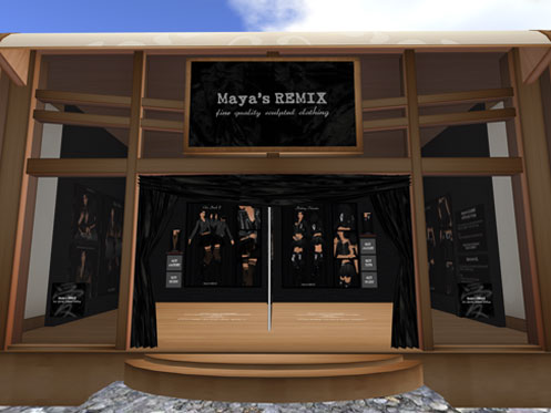 Maya's REMIX New Branch at R.A. & M. DESIGNS
