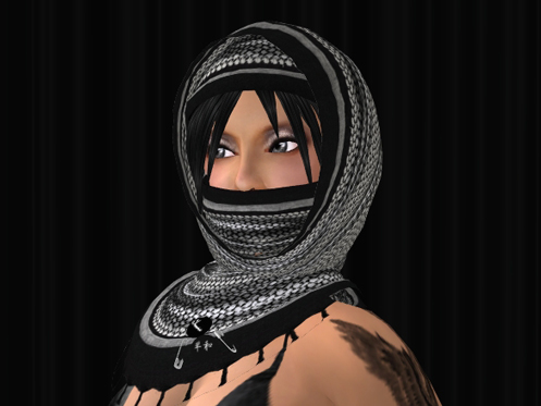 Kafiya Hijab mask include now